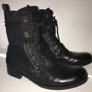 J75 by Jump Black Trooper Boots Size 12